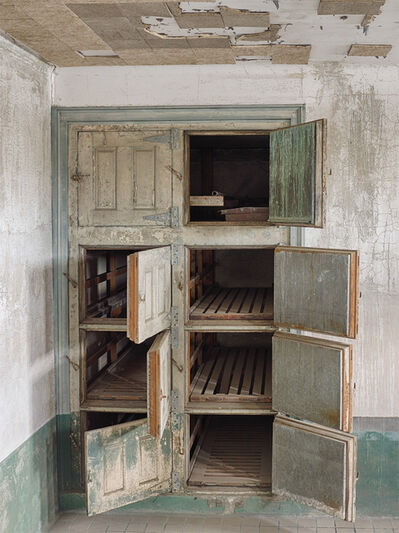 Lee Backer, 'Body Compartments, Ellis Island Hospital', 2017