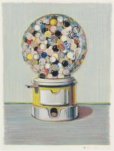 Wayne Thiebaud, 'Jawbreaker Machine'