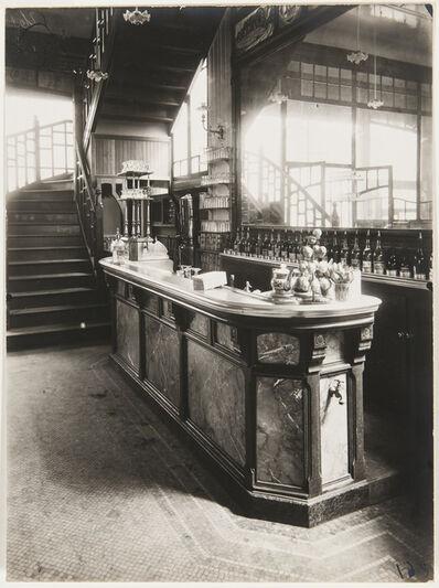 Eugène Atget, 'Bar de Cabaret, Paris', 1910, 1911, printed later