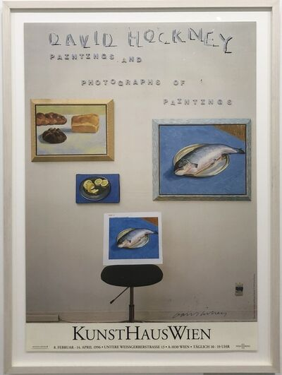 David Hockney, 'Hand-Signed 'Paintings and Photographs of Paintings'', 1996