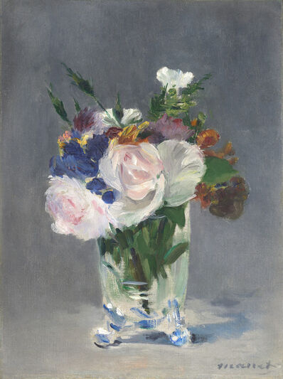 Édouard Manet, 'Flowers in a Crystal Vase', ca. 1882