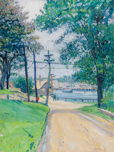 Jane Peterson, 'Road to Rocky Neck, East Gloucester ', ca. 1915