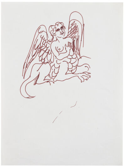 Antonio Berni, 'Sin Título (Grifo Griego)', ca. 1970
