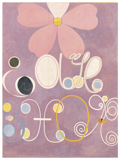 Hilma af Klint, 'Group IV, no 5, The Ten Largest', 2018