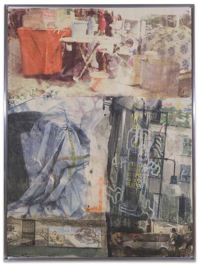Robert Rauschenberg, 'Matinee [Anagram (A Pun)]', 1997