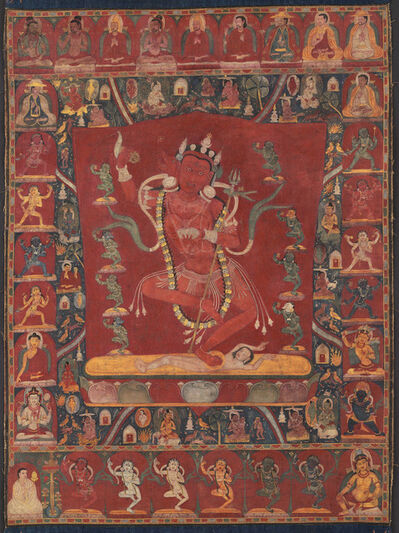 Unknown Tibetan, 'Thangka of Vajravarahi', Ca. 12th century