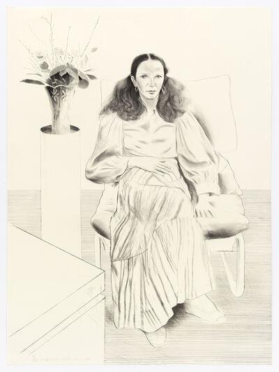 David Hockney, 'Brooke Hopper', 1976