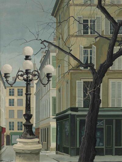 ratislaw rakoff, 'Place Furstemberg, Paris', Exécuté en 1959