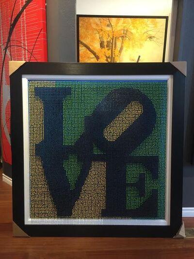 "Efraim Mashiah, 'Screw Board ""Love Sign""', 2018"