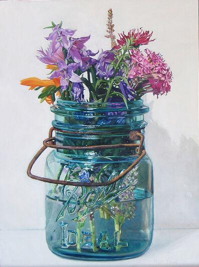 Peggie Blizard, 'Summer Flowers with Lavender Bells', 2019