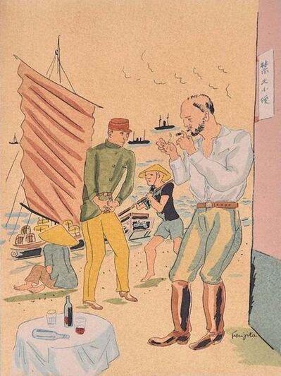 Léonard Tsuguharu Foujita, 'Propos d'un Intoxiqué', 1928