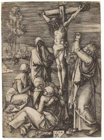 Albrecht Dürer, 'Christ on the Cross (B. 24; M., Holl. 23; S.M.S. 61)', 1508