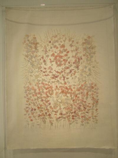 Aurèlia Muñoz, 'Mandala amb flors roses', 1986