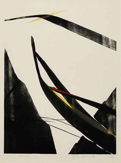 Tōkō Shinoda, 'DUSK', 1984
