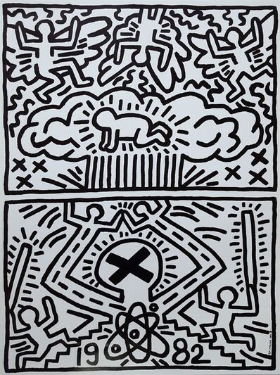 Keith Haring, 'Poster for the Nuclear Disarmament', 1982