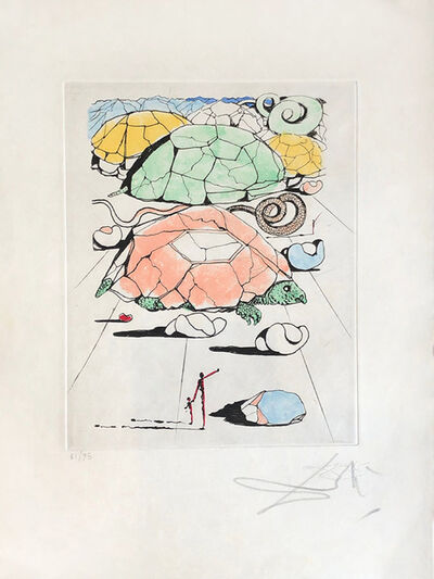 Salvador Dalí, 'Turtle Mountain', 1967