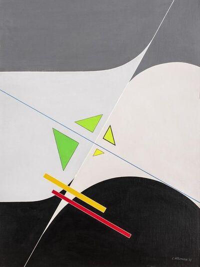 Luigi Veronesi, 'Composizione F6', 1972