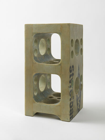 Tom Sachs, 'Cinderblock (Blue foam with holes)', 2012