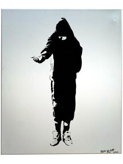 Blek le Rat, 'Beggar', 2007