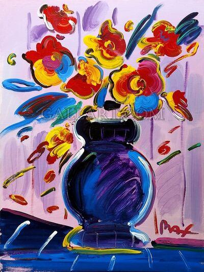 Peter Max, 'VASE OF FLOWERS SERIES 41 VER. II #1', 2000