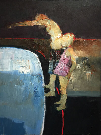 Danny McCaw, 'Diving In', 2018