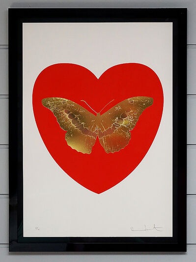 Damien Hirst, 'Butterfly - Poppy Red', 2015