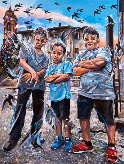 Michael Vasquez, 'Ragazzi della Citta della Pieve', 2018