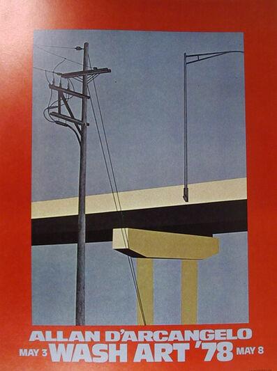 Allan D'Arcangelo, 'Wash Art', 1978