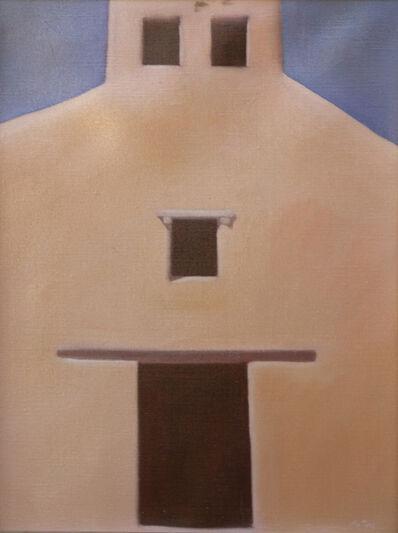 John Axton, 'New Mexico Church', 1985