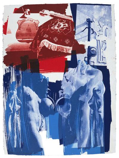 Robert Rauschenberg, 'Blues', 1992