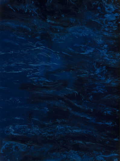 Patricia J Finley, 'Movement in Indigo', 2018