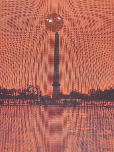 Pol Bury, 'Paris, Obélique', c.1970