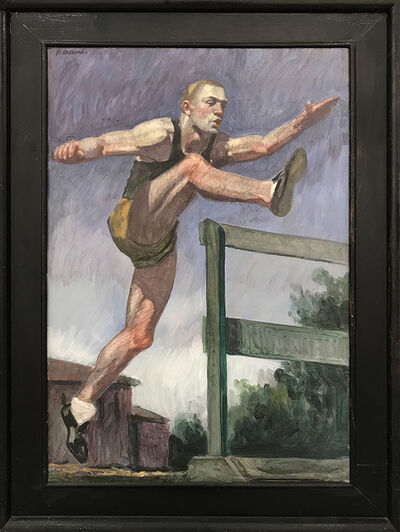 Mark Beard, '[Bruce Sargeant (1898-1938)] Study for Jumping the Hurdles', n.d.