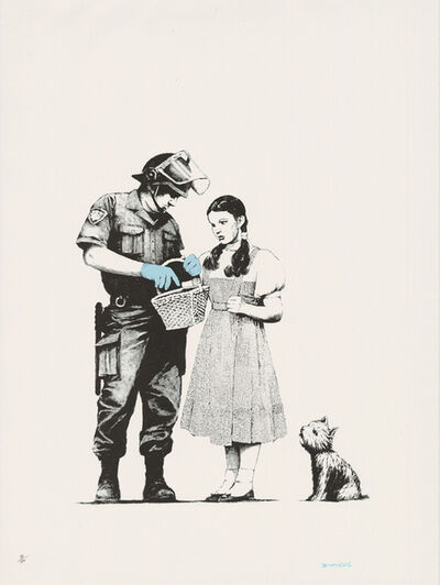 Banksy, 'Stop & Search (Signed)', 2009