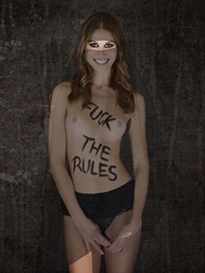 Cecile PLAISANCE, 'FUCK THE RULES (PROCHE)', 2018