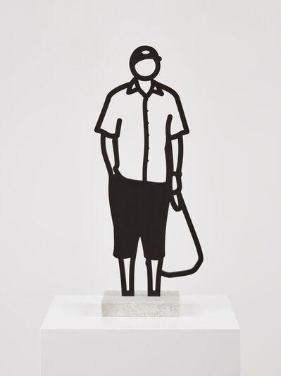 Julian Opie, 'Melbourne Statuettes, Plastic bag ', 2018