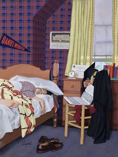 Richard Sargent, 'Sleeping In, Saturday Evening Post Cover', 1954