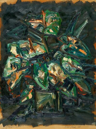 Ralph Fleck, 'Topfpflanzen', 1986