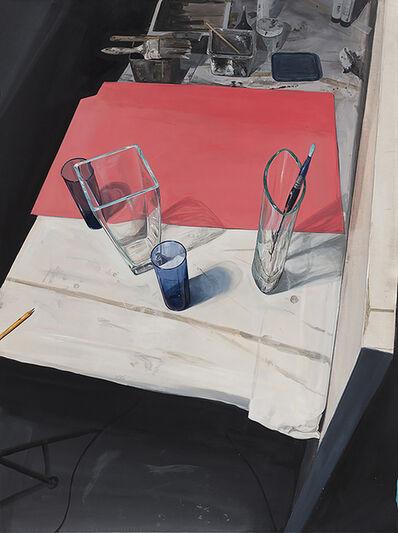 Paul D. Gibson, 'Studio Table', 2018