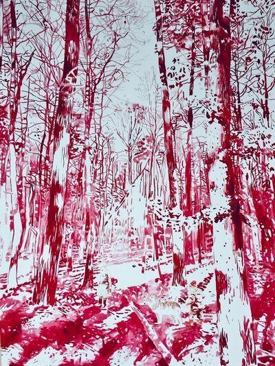 Malgosia Jankowska, 'Drei im Wald', 2019