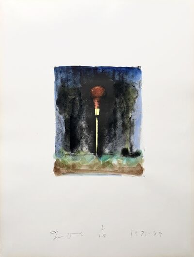 Jim Dine, 'Untitled from 'Winter Tools' ', 1973-1989
