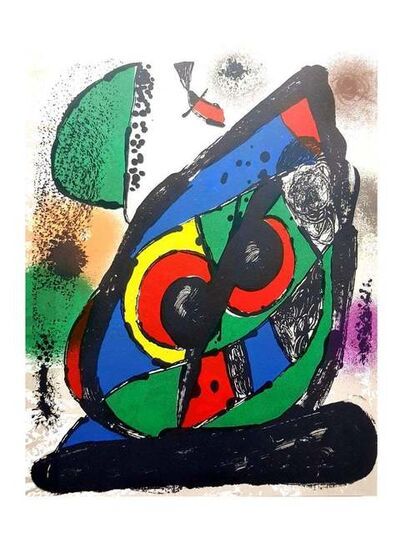"Joan Miró, 'Joan Miró Original Abstract Lithograph from ""Lithographe IV""', 1981"
