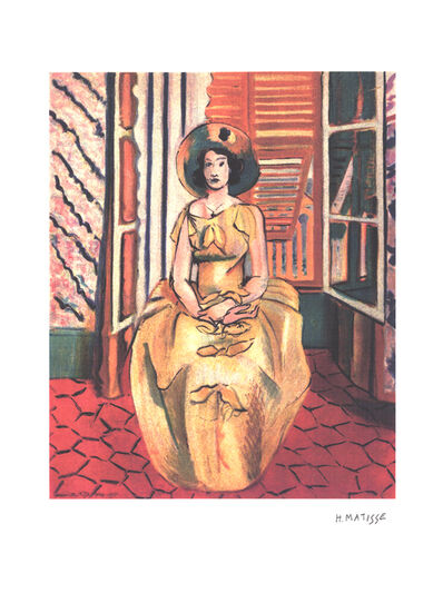 Henri Matisse, 'Yellow Dress', (Date unknown)