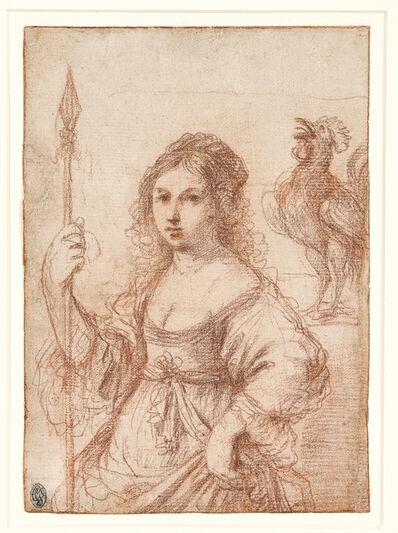 Guercino, 'Allegory of Vigilance', ca. 1662