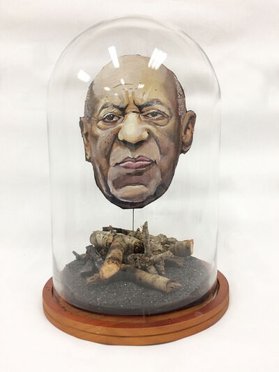 Dustin Harewood, 'Damaged #2 (Portrait of Cosby)', 2018