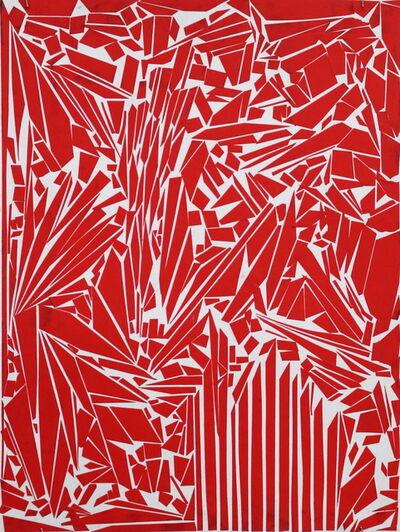 Ibrahim Abusitta, 'Red Tape', 2015
