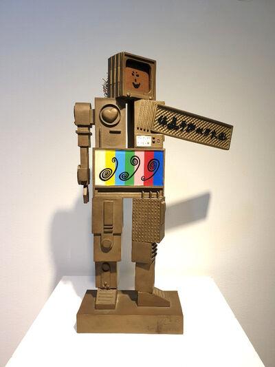 Nam June Paik, 'Metrobot', 1988