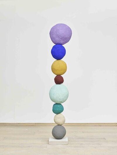 Annie Morris, 'Stack 10 - Studio Violet', 2017
