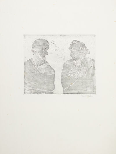 Emil Nolde, 'Nachbarn', 1918