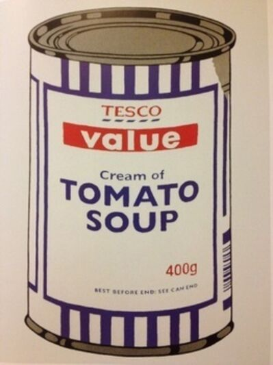 Banksy, 'Tesco Soup Can unsigned', 2005
